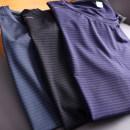 T-shirt Youth fashion 21bht-hc9901 is sapphire blue, 21bht-hc9901 is dark gray, 21bht-hc9901 is black thin M,L,XL,2XL,3XL,4XL,5XL Huasachi Short sleeve Crew neck standard Other leisure summer youth routine tide 2020 stripe