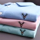 Polo shirt Huasachi Fashion City routine 21bht-qc21106 pink, 21bht-qc21106 light green, 21bht-qc21106 light blue 170 (110-130), 175 (130-145), 180 (145-160), 185 (160-175), 190 (175-190), 195 (190-210) standard Other leisure summer Short sleeve Business Casual routine 2021 Solid color cotton