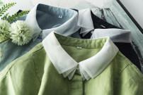 Dress Summer 2020 Yellow, light blue, Navy, Avocado Green S,M,L,XL Mid length dress singleton  Type H