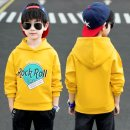Sweater / sweater Other / other Blue, yellow male 110cm,120cm,130cm,140cm,150cm,160cm winter No detachable cap leisure time Socket Plush There are models in the real shooting cotton Solid color Other 100% Cotton liner