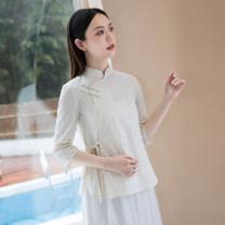 jacket Summer 2021 S,M,L,XL Off white top D300 hemp 51% (inclusive) - 70% (inclusive)