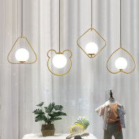 a chandelier Glass chandelier 1 100V-240V Fishline Chandelier Jerui space Does not support intelligence Northern Europe JR-045 Entrance / bar / aisle iron Glass 1 year Chinese Mainland no