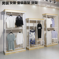 Clothing display rack clothing wood Official standard