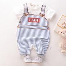 Jumpsuit / climbing suit / Khaki Labi baby / Rabbi Class A currency 59cm,66cm,73cm,80cm cotton Six months, 12 months Chinese Mainland Zhejiang Province