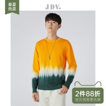 T-shirt / sweater J.D.V Youth fashion Orange 170/92B/S 175/96B/M 180/100B/L 180/104B/XL routine Socket Crew neck Long sleeves WOT0938 Straight cylinder Cotton 100% youth other Autumn 2020 Pure cotton (95% above) Pure e-commerce (online only)