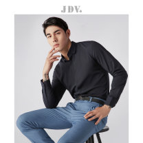 shirt Business gentleman J.D.V 165/84A/XS 170/88A/S 175/92A/M 180/96A/L 180/100A/XL 185/104A/XXL routine Pointed collar (regular) Long sleeves Self cultivation go to work autumn youth Polyester 96% polyurethane elastic fiber (spandex) 4% Business Formal  Solid color Fall 2017
