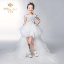 Children's dress female 110cm 120cm 130cm 140cm 150cm 160cm Saint Latisse full dress other Polyester 100% Spring of 2019 3 years old, 4 years old, 5 years old, 6 years old, 7 years old, 8 years old, 9 years old, 10 years old, 11 years old, 13 years old, 14 years old