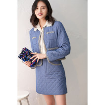 Fashion suit Winter 2020 S,M,L,XL Top, skirt GD-W4423 71% (inclusive) - 80% (inclusive) polyester fiber