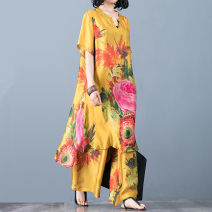 Fashion suit Summer 2020 Average size Yellow, green, red