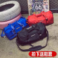 Travel bag oxford nothing FROCAL The pure blue, the pure black, the true love CUHK yes leisure time Double root Japan and South Korea Bag type nylon Soft handle written words youth Zipper hidden bag mobile phone bag certificate bag sandwich zipper bag letter one thousand one hundred and one