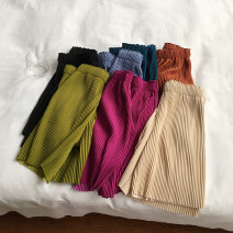 Casual pants M, L Summer 2020 Pant Wide leg pants High waist commute routine 91% (inclusive) - 95% (inclusive) Other / other other Korean version pocket