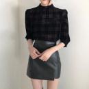 skirt Autumn 2020 S,M,L Black, beige Short skirt commute High waist A-line skirt Solid color Type A 25-29 years old X1129 81% (inclusive) - 90% (inclusive) other PU Asymmetric, zipper Korean version 401g / m ^ 2 (inclusive) - 500g / m ^ 2 (inclusive)