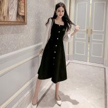 Women's large Spring 2021, autumn 2021 Picture color S [within 90 Jin], m [90-100 Jin], l [100-115 Jin], XL [115-130 Jin], XXL [130-150 Jin], 3XL [150-160 Jin] Dress