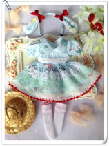 BJD doll zone Dress 1/6 Over 14 years old goods in stock 6 points BJD, Blythe Xiaobu, 4 points BJD, giant baby BJD Small change of skirt lace