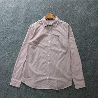 shirt claret S,M,L cotton 96% and above