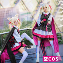 Cosplay women's wear suit goods in stock Over 14 years old Empty cos suit, empty ears, empty boots (remark size 36-39) Animation, games 50. M, s, XL, one size fits all Fengmeng animation Chinese Mainland Tomorrow's Ark