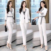 Fashion suit Spring 2021 M,L,XL,XXL,XXXL White, black Other / other