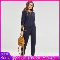 Casual suit Spring 2021 Black, blue M,L,XL,XXL
