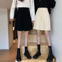 Wool knitwear Winter 2020 Average size Apricot, black singleton  acrylic fibres More than 95% commute