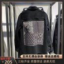 shirt Fashion City Jiang Taiping and niaoxiang S,M,L,XL,2XL black routine square neck Long sleeves easy Other leisure Four seasons B2BJB1173 teenagers Basic public 2021