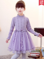 Dress Pink, red, violet female Princess giniu 110cm,120cm,130cm,140cm,150cm,160cm Polyamide fiber (nylon) 100% spring and autumn princess Long sleeves Solid color other Princess Dress Class B 2, 3, 4, 5, 6, 7, 8, 9, 10 years old Chinese Mainland Guangdong Province Shantou City