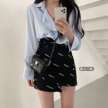 Fashion suit Summer 2021 S. M, average size Shirt, skirt 18-25 years old