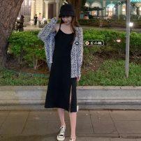 Fashion suit Spring 2021 Average size Shirt, suspender skirt 18-25 years old