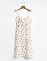 Dress Autumn of 2019 As shown in the figure S,M,L Mid length dress singleton  street camisole 18-24 years old 31% (inclusive) - 50% (inclusive) Europe and America