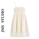 Dress Summer 2021 white S,M,L Short skirt singleton  Sleeveless commute One word collar High waist Solid color Socket A-line skirt other camisole 18-24 years old Type A Korean version 51% (inclusive) - 70% (inclusive) other other