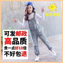 suit Other / other 110cm, 120cm, 130cm, 140cm, 150cm, 160cm, 170cm, mother's model (can be matched with parents and children) 105-115, mother's model can be matched with parents and children 115-125kg female spring and autumn Korean version Long sleeve + pants 2 pieces routine double-breasted nothing
