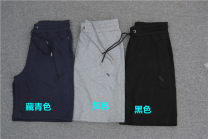 Casual pants Others Fashion City Navy, grey, black routine Shorts (up to knee) Other leisure Straight cylinder Micro bomb summer 2021 Straight cylinder Sports pants cotton cotton More than 95%