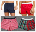 Pajamas / housewear Other / other male shorts Thin money Leisure home Simplicity Solid color Button youth