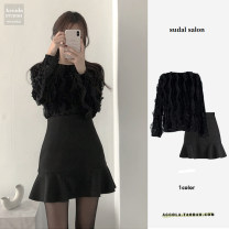 Other suits Winter 2020 shirt , skirt , Two piece set S,M,L,XL Other / other
