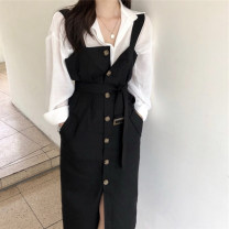 Fashion suit Spring 2020 S,M,L,XL Shirt, suspender skirt 18-25 years old Other / other 31% (inclusive) - 50% (inclusive)