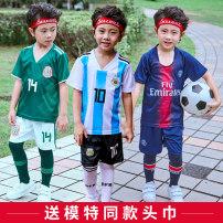 Football clothes XXXS,XXS,XS,S,M,L,XL,XXL,XXXL children Top 100 million Player Edition Short suit Home court