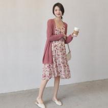 suit Seaporey / cypress M L XL average size Korean version Long sleeve + skirt summer Thin money