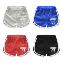 trousers Top one kids male summer shorts Korean version No model Sports pants Leather belt middle-waisted cotton Don't open the crotch Cotton 95% polyester 5% Class B 12 months, 18 months, 2 years old, 3 years old, 4 years old, 5 years old, 6 years old, 7 years old Chinese Mainland Guangdong Province