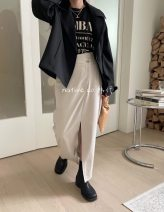 skirt Spring 2021 S code does not support return and exchange, M code does not support return and exchange Khaki reservation, Mibai reservation, ink reservation, Mibai shooting for 24 hours Versatile other other Type H 25-29 years old More than 95% other polyester fiber