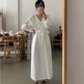 Dress Spring 2021 Dark blue, white Average size Other / other