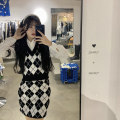 Fashion suit Spring 2021 Average size Vest, skirt, shirt