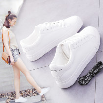 canvas shoe DD&OO Low Gang White moon white black white 35 36 37 38 39 40 Spring of 2018 Frenulum Korean version rubber Solid color Youth (18-40 years old) Cross bandage D6809 Vulcanization process