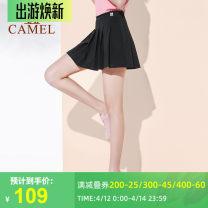 Sports skirt J0S1UI101 J0s1ui101, black, j0s1ui101, Ivory Camel six hundred and twenty-eight female XS (adult), s (adult), m (adult), l (adult), XL (adult) other Sports & Leisure ventilation Brand logo Sports life polyester fiber