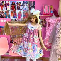 Lolita / soft girl / dress cat'sbroom One size fits all jsk Unlimited season, winter, summer, spring, spring and autumn Lolita, classic