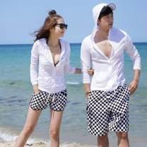 Beach coat Sun proof clothes, men's trousers, women's trousers M,L,XL Ledoya