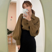 Fashion suit Autumn 2020 Average size Shirt, skirt s, Skirt M 18-25 years old 51% (inclusive) - 70% (inclusive) polyester fiber