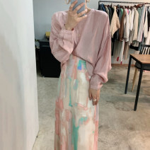 Fashion suit Autumn 2020 Average size Shirt, skirt s, Skirt M 18-25 years old polyester fiber