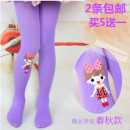 Children's socks (0-16 years old) Pantyhose 2 from the delivery, buy 5 get 1 free, please take 6, small size socks height 70-90cm wear, large size socks suitable for 91-120cm high, size up to 120-145cm high Other / other spring and autumn female Class B Candy children's pantyhose Average size