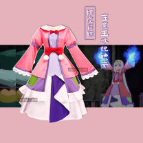 Cosplay women's wear skirt goods in stock Over 14 years old Dress + BOW BELT + pommel + corolla + Hair Bow X4 + socks Animation, original, film and television, games S,M,L,XL MUW Lovely, lovely, Maid Dress, Royal sister fan, otaku department, campus style, Lolita Night Liz cos