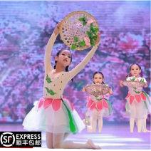 Children's performance clothes Clothes + headwear, hat female 100cm,110cm,120cm,130cm,140cm,150cm,160cm,170cm Other / other Class B nation Cotton and hemp Four, five, six, seven, eight, nine, ten, eleven, twelve, thirteen, fourteen, three months