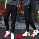 Casual pants Others Youth fashion Camouflage pants [regular], two bar Leggings [regular], leather rope black [regular], leather three bar [regular], ribbon pants (straight tube) black, ribbon pants (straight tube) gray, chest stripe Short Sleeve Black routine Ninth pants motion Self cultivation 2018